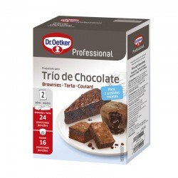 TRIO CHOCOLATE 1 KG.
