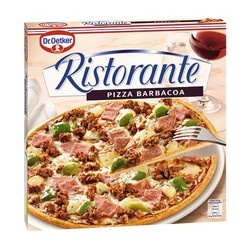 PIZZA RISTO. BARBACOA 7x350